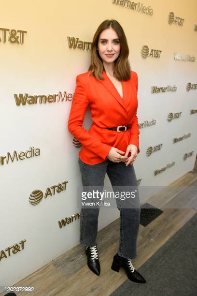 Alison Brie stops by WarnerMedia Lodge Elevating Storytelling with ATT during Sundance Film Festival 2020 on January 27 2020 in Park City Utah