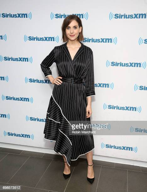 Alison Brie visits at SiriusXM Studios on June 20 2017 in New York City
