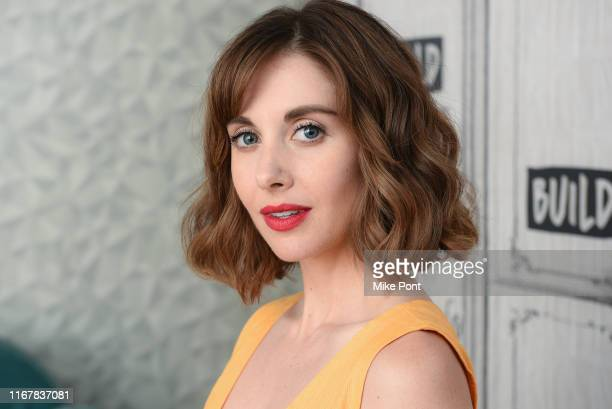 Alison Brie visits Build Series to discuss GLOW at Build Studio on August 13 2019 in New York City