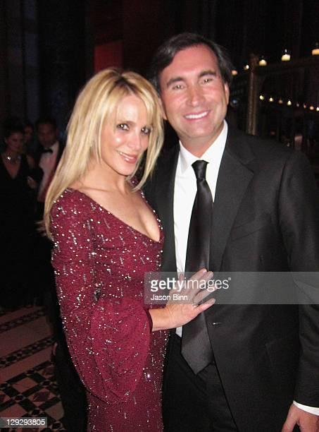 Alison Brod of Alison Brod Public Relations and husband Andy Brod attend the 2011 New Yorkers for Children Fall Gala at Cipriani 42nd Street on...