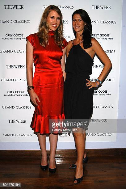 Alison Brokaw and Amanda Richman attend GRAND CLASSICS Screening of Cool Hand Luke Hosted by Julia Stiles Sponsored by THE WEEK at Soho House on...