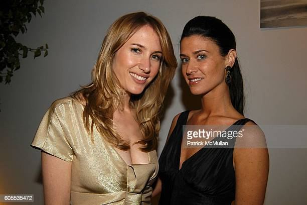 Alison Brokaw and Amanda Richman attend Molly Sims Hosts OPERATION SMILE 'The Smile Collection' Benefit featuring the J MENDEL Spring 2006 Collection...