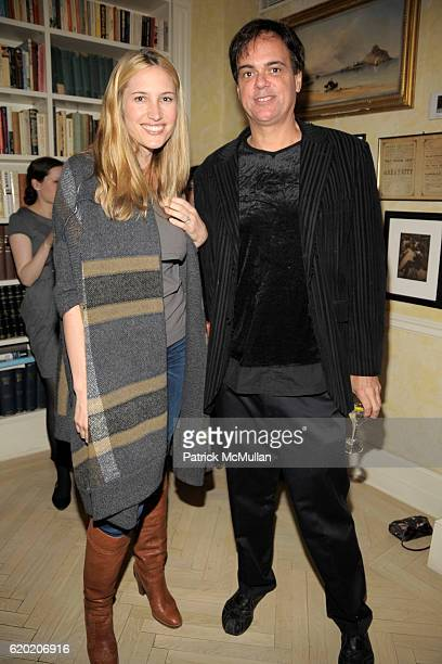 Alison Brokaw and Brian Antoni attend TINA BROWN VICKY WARD and LA MER host party honoring SUSAN NAGEL'S new book 'Marie Therese' at Tina Brown and...