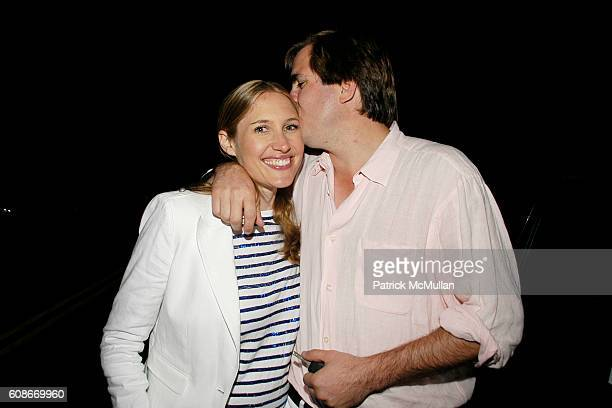 Alison Brokaw and George Brokaw attend LOVE HEALS The Alison Gertz Foundation for AIDS Education at Luna Farm Sagaponack on June 23 2007 in...