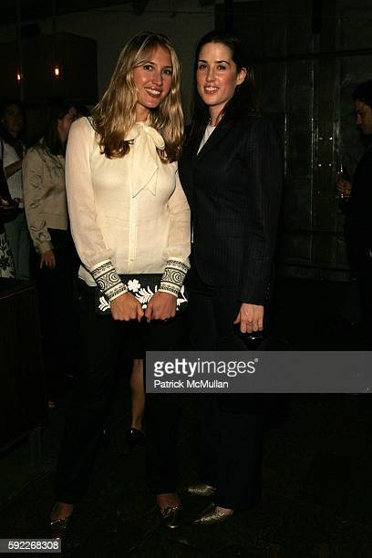 Alison Brokaw and Lil Phillips attend 'A Fall Cocktail Party' Benefiting the School of American Ballet at Public on September 26 2005 in New York City