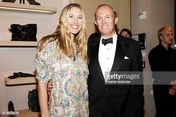 Alison Brokaw and Mark Gilbertson attend ROGER VIVIER Hosts Cocktail Event For NEW YORKERS FOR CHILDREN at Roger Vivier on October 22 2008 in New...
