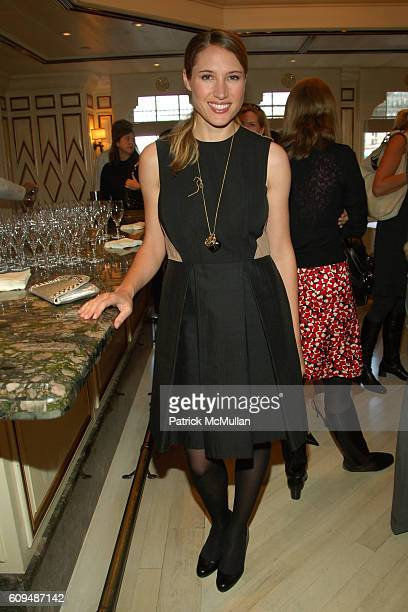 Alison Brokaw attends AKRIS Luncheon Viewing of the Spring 2007 Collection at Bergdorf Goodman on January 23 2007 in New York City