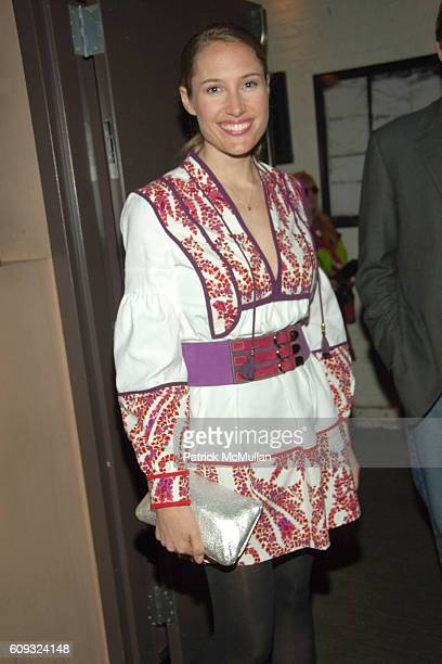 Alison Brokaw attends GODIVA Presents 9th Annual 50 Fabulous Females to Benefit LOVE HEALS at Tenjune on March 20 2007 in New York City