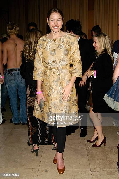 Alison Brokaw attends IMPERIA VODKA Presents the VISIONAIRE 'Artist Toys Launch Party' at The Raleigh Hotel on December 9 2006 in Miami Beach FL
