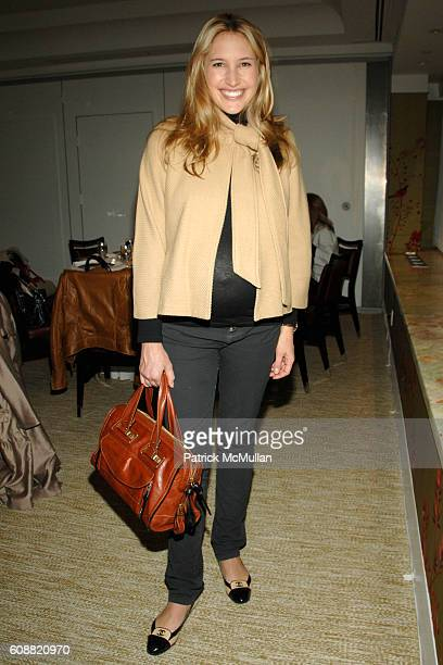 Alison Brokaw attends JOHN HARDY VANITY FAIR VICKY WARD Luncheon with special guest GUY BEDERIDA at London Hotel on October 30 2007 in New York City