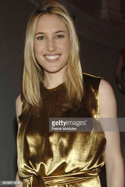 Alison Brokaw attends MUSEUM of the CITY OF NEW YORK Director's Council and DIOR WINTER BALL at Museum of the City of New York on March 12 2008 in...