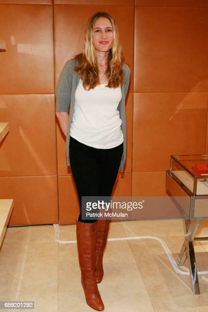 Alison Brokaw attends TOD'S And W MAGAZINE Host Cocktails To Benefit LOVE HEALS at Tod's on February 11 2009 in New York City