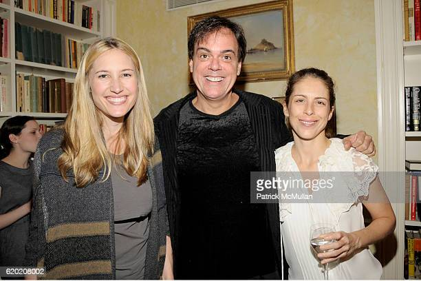 Alison Brokaw Brian Antoni and Dini von Mueffling attend TINA BROWN VICKY WARD and LA MER host party honoring SUSAN NAGEL'S new book 'Marie Therese'...