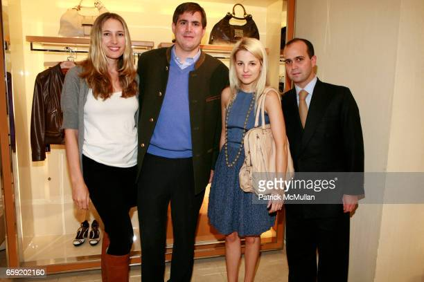 Alison Brokaw George Brokaw Alexandra Vidal and Jose Maria Trullos attend TOD'S And W MAGAZINE Host Cocktails To Benefit LOVE HEALS at Tod's on...