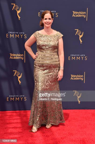 Alison Camillo attends the 2018 Creative Arts Emmys Day 2 at Microsoft Theater on September 9 2018 in Los Angeles California