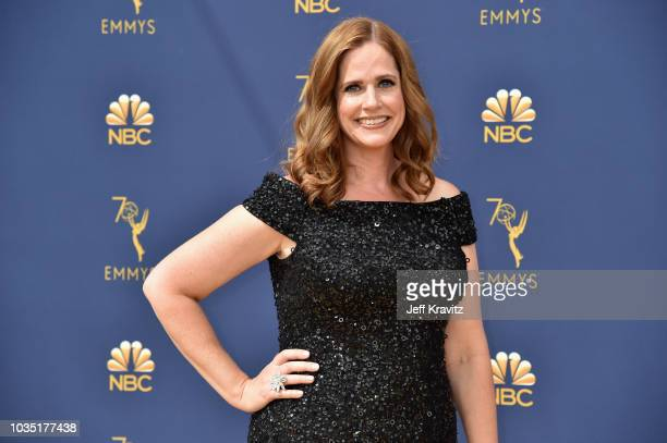 Alison Camillo attends the 70th Emmy Awards at Microsoft Theater on September 17 2018 in Los Angeles California