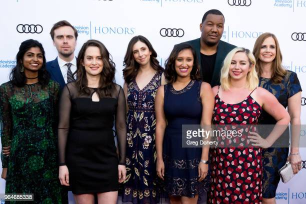 Alison Camillo Travon Free Hannah Wright Naureen Khan Nicole Siwerberg Melinda Taub Pat Cassels and Sanya Dosani attend the 11th Annual Television...