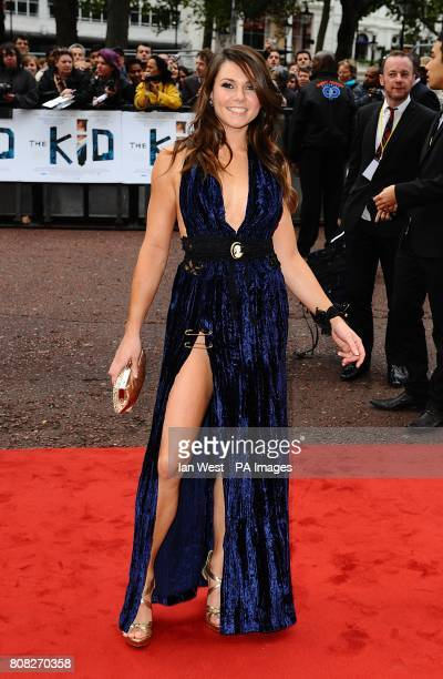 Alison Carroll arriving for the UK premiere of The Kid at the Odeon West End London