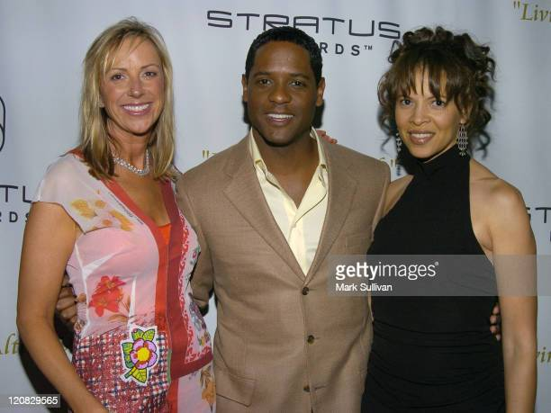 Alison Chittum president/CEO Stratus Rewards Blair Underwood and wife Desiree DaCosta