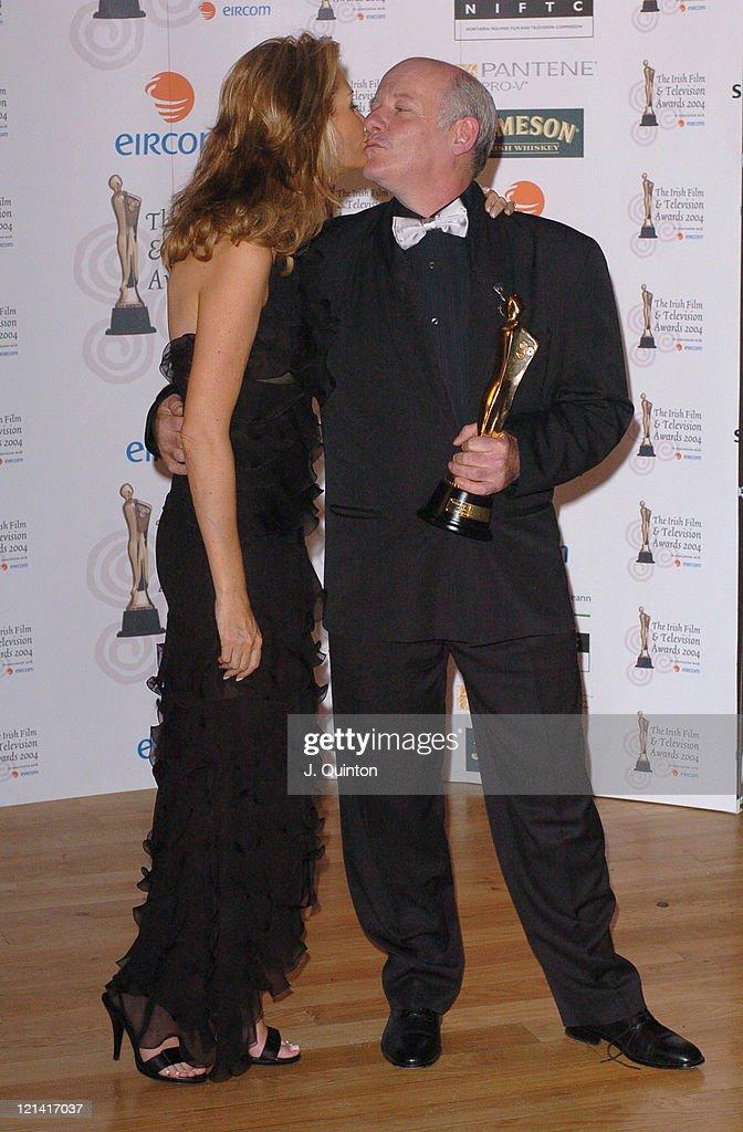 The Irish Film and Television Awards 2004 - Press Room : News Photo