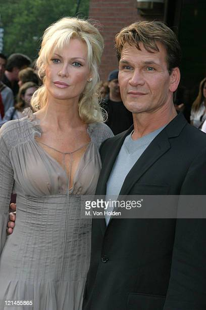 Alison Doody Patrick Swayze during VIP Screening of 'King Solomon's Mines' at The Tribeca Grand Hotel in New York New York United States