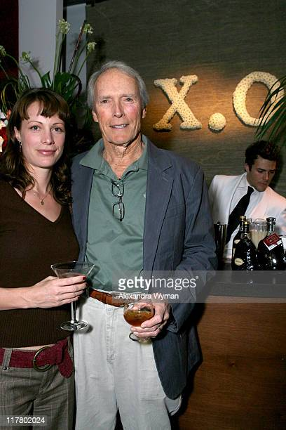 Alison Eastwood and Clint Eastwood during Hennessy Paradis and Rendezvous Entertainment Host the Release of Kyle Eastwood's Now in Los Angeles...