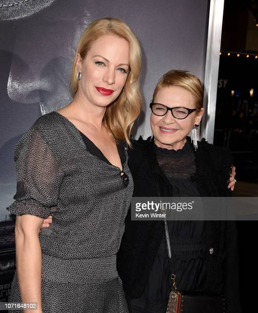 Alison Eastwood and Dianne Wiest arrive at the premiere of Warner Bros Pictures' The Mule at the Village Theatre on December 10 2018 in Los Angeles...