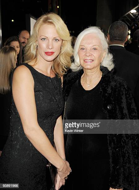 "Alison Eastwood and her mother Maggie Johnson arrive at the premiere of Warner Bros. Pictures' and Spyglass Entertainment's ""Invictus"" at the Academy..."