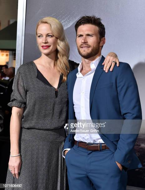 Alison Eastwood and Scott Eastwood attend the Warner Bros. Pictures world premiere of 'The Mule' at Regency Village Theatre on December 10, 2018 in...