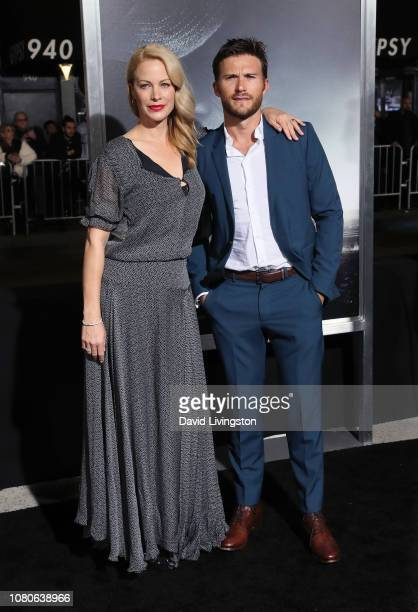Alison Eastwood and Scott Eastwood attend Warner Bros Pictures World Premiere of The Mule at Regency Village Theatre on December 10 2018 in Westwood...