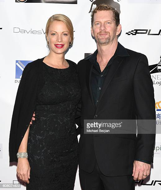 Alison Eastwood and Stacy Poitros attend All About the Animals Homeless to Haute Gala at Monarch Beach Resort on September 18, 2016 in Dana Point,...