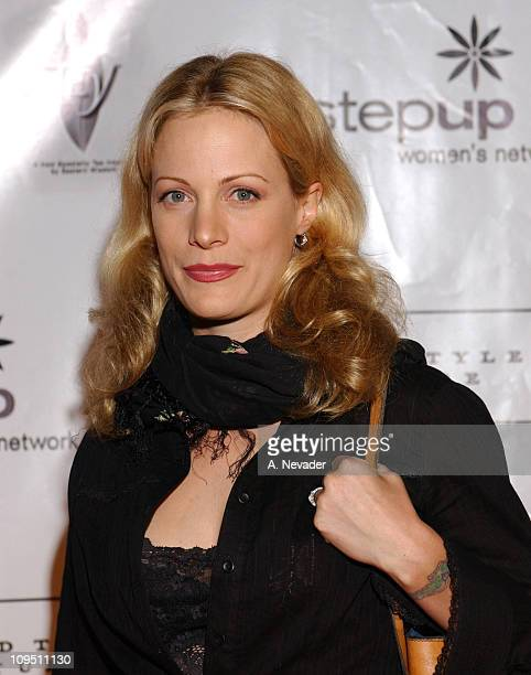 Alison Eastwood during An Evening of Fashion and Music Presented by Step Up Women's Network and Lexus Arrivals at Jim Henson Studios in Los Angeles...