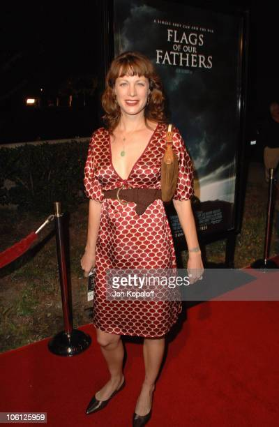 "Alison Eastwood during ""Flags of Our Fathers"" Los Angeles Premiere - Arrivals at Academy of Motion Pictures Arts & Sciences in Beverly Hills,..."