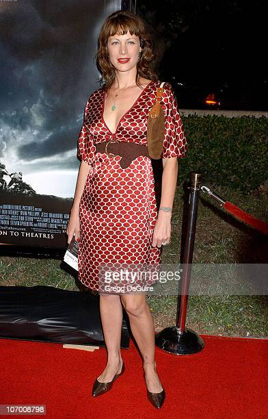 Alison Eastwood during Flags of Our Fathers Los Angeles Premiere Arrivals at Academy Theatre in Beverly Hills California United States