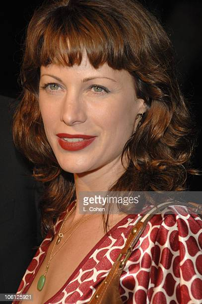 Alison Eastwood during Flags of Our Fathers Los Angeles Premiere Red Carpet in Hollywood California United States