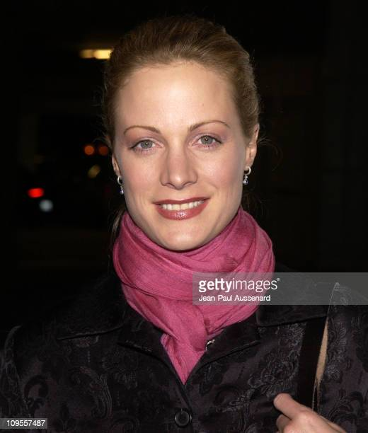 "Alison Eastwood during ""Poolhall Junkies"" Premiere In Memory of Rod Steiger to Benefit The Motion Picture & Television Fund at ArcLight Theatre in..."