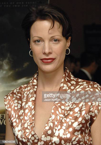 Alison Eastwood during Private Screening Of Clint Eastwoods 'Letters From Iwo Jima' December 10 2006 at Time Warner Center in New York City New York...