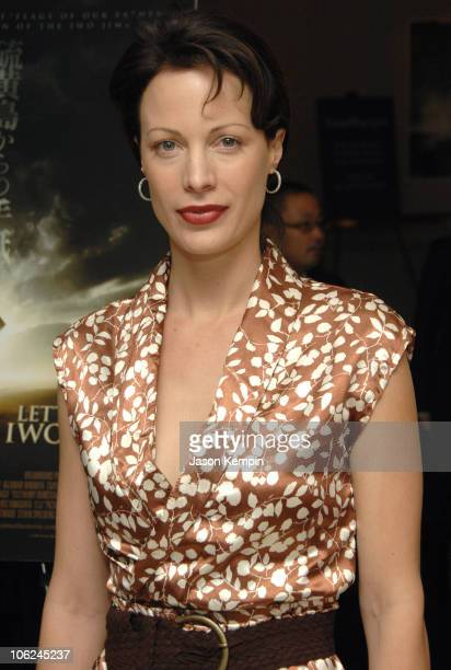 "Alison Eastwood during Private Screening Of Clint Eastwoods ""Letters From Iwo Jima"" - December 10, 2006 at Time Warner Center in New York City, New..."