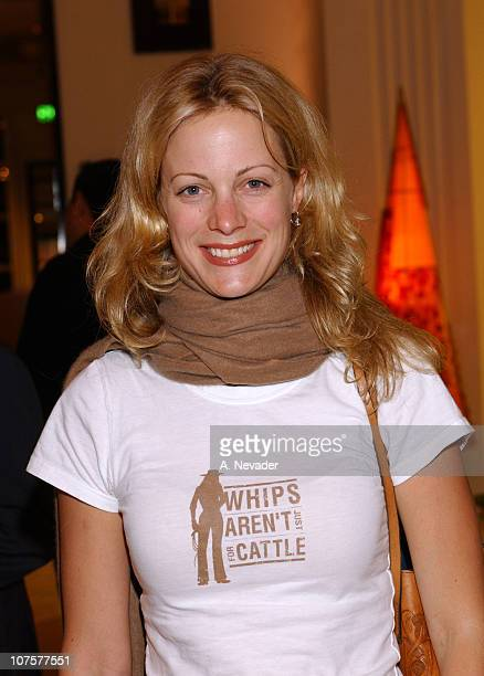 Alison Eastwood during The 100th Anniversary of the PerrierJouet Flower Bottle and the Launch of Artist Hunt Slonem's Book An Art Rich Strange at...