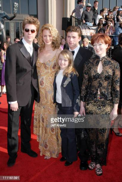 Alison Eastwood Kyle Eastwood Frances Fisher and family