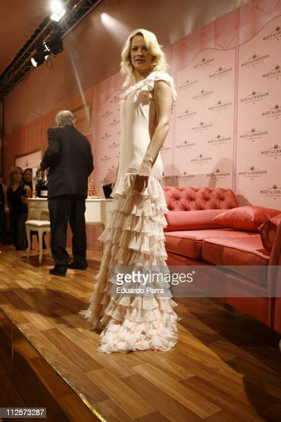 Alison Eastwood launches Moet Chandon Indulgence Coffret Limited Edition on February 12 2008 in Madrid Spain