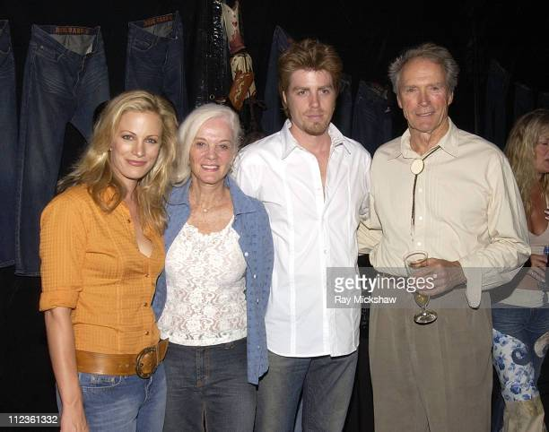 Alison Eastwood Maggie Eastwood Kyle Eastwood and Clint Eastwood