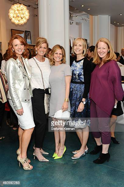 Alison Edelstein Cece Feiler Allison Berg Willow Bay and Colleen Criste attend LACMA's Director's Circle And NETAPORTER Celebrate The Wear LACMA...