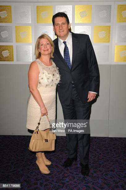 Alison Evers and Tony Hadley at the 2013 TRIC Awards at Grosvenor House on Park Lane London