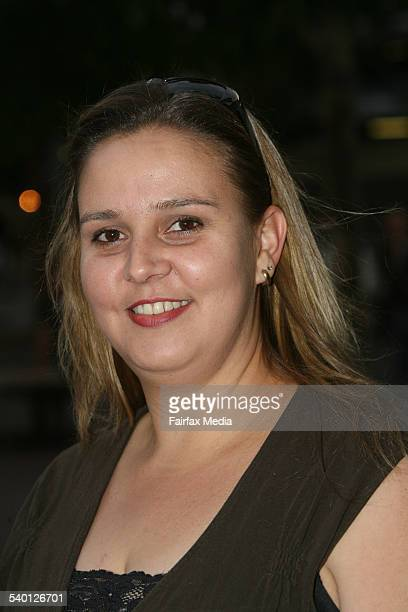 Alison Farley at the Billy Joel concert at the Acer Arena Homebush Bay Sydney 15 November 2006 SHD Picture by SIMON ALEKNA