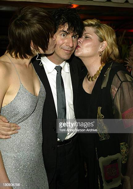 Alison Folland Alan Mindel Debra Monk during 2003 Cannes Film Festival 'Milwaukee Minnesota' Party at The Man Ray Beach at Man Ray Beach in Cannes...