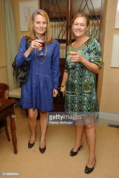 Alison Froling and Ondine Karady attend Kickoff Party for HOLIDAY HOUSE to Benefit The Greater NYC Affiliate of SUSAN G KOMEN for THE CURE at Myrtle...