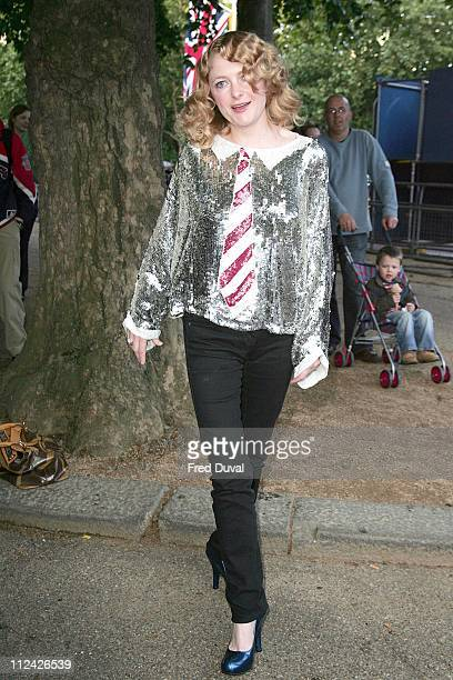 Alison Goldfrapp during 'All Tomorrow's Pictures' Charity Auction and Launch Party Outside Arrivals at Institute of Contemporary Arts in London Great...