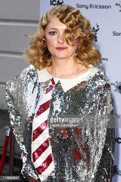Alison Goldfrapp during 'All Tomorrow's Pictures' Launch Party – Outside Arrivals at Institute of Contemporary Arts in London Great Britain