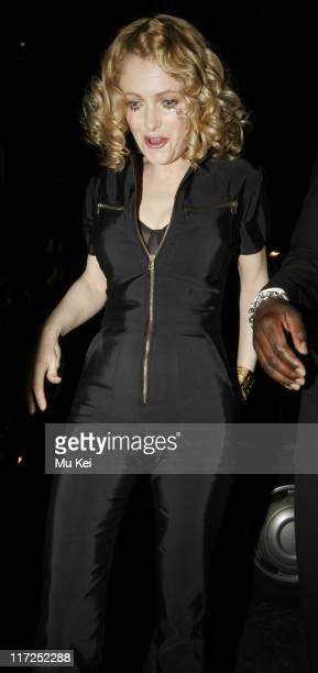 Alison Goldfrapp during LG Chocolate Phone Launch Party at Sketch in London Great Britain